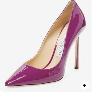 NWB-Jimmy Choo Patent Leather Pointed Heels
